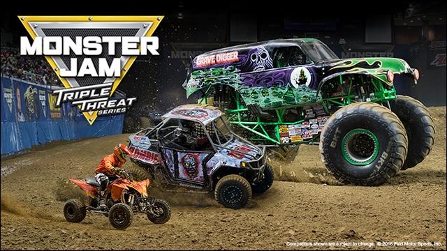 CSC Monster Jam Tickets